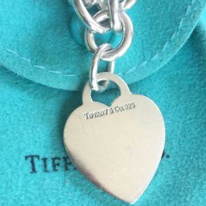 Authentic TIFFANY & CO Heart Tag Necklace